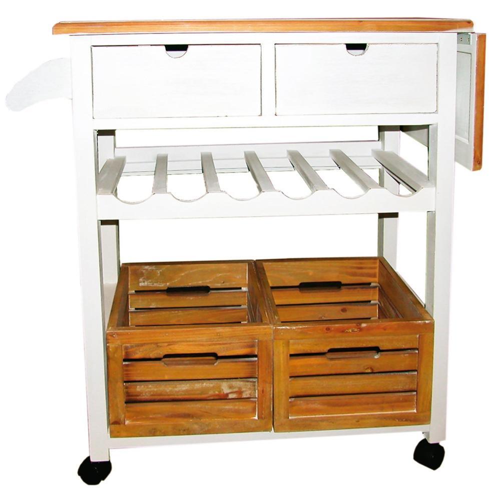 m bel im landhausstil servierwagen rioja im landhausstil. Black Bedroom Furniture Sets. Home Design Ideas