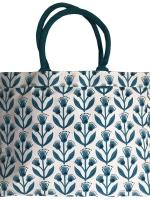 Shopper aus Segeltuch - Strandtasche